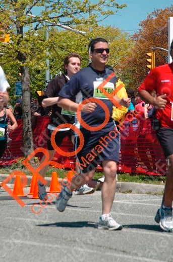 Me, running my first 5K. No, I haven't purchased the photo yet :)