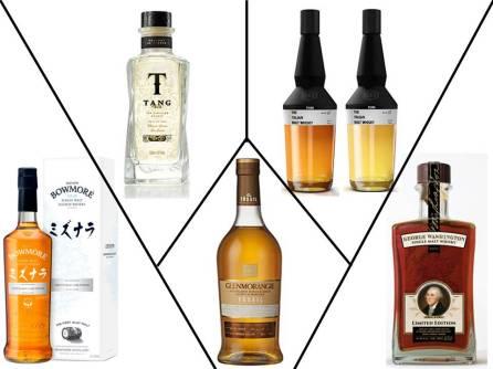 Destilados - Cinco bebidas para 2016