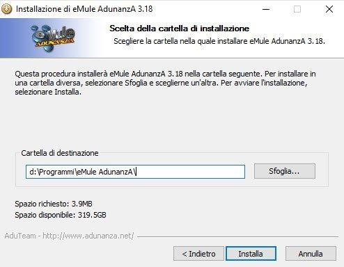 emule adunanza per windows 7