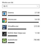 Banda: come diminuire l' utilizzo con Windows 10