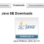Installazione Java SE per Android Studio
