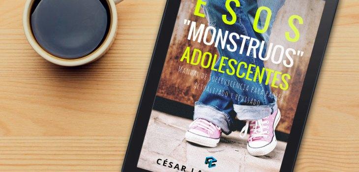 Libro Esos Monstruos Adolescentes César Landaeta Psicólogo