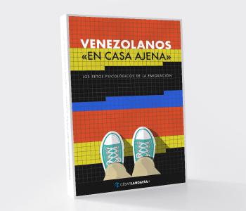 Venezolanos En Casa Ajena - nuevo libro de César Landaeta - Psicología, emigrante venezolano