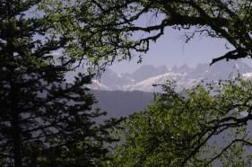 Ishan Agarwal. View on the way up to Pindari Glacier. 2007. Uttarakhand.