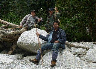 Ashok Kumar Mallik. Expedition. 2009. Eaglenest WLS, Arunachal Pradesh.