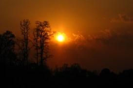 Souvik Mandal. Sunset.