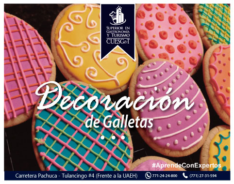 Galletas con Diversas Decoraciones