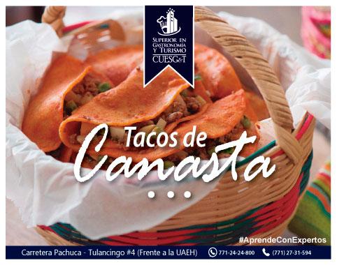 Canasta Llena con Tacos de Canasta