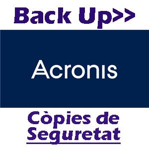 Acronis, líder mundial en còpies de seguretat, Back Up
