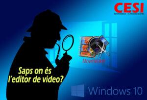 Saps on és l'editor de video al Windows 10?