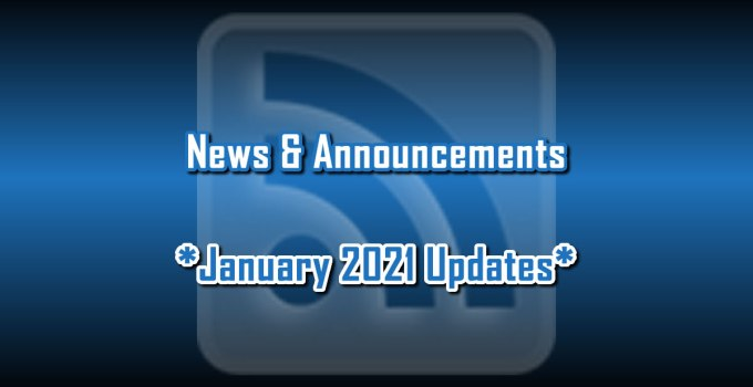 January 2021 Updates - News & Announcements from C. E. Snyder Marketing LLC