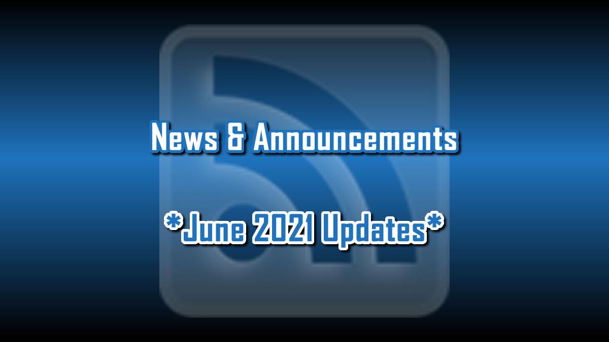 June 2021 Updates