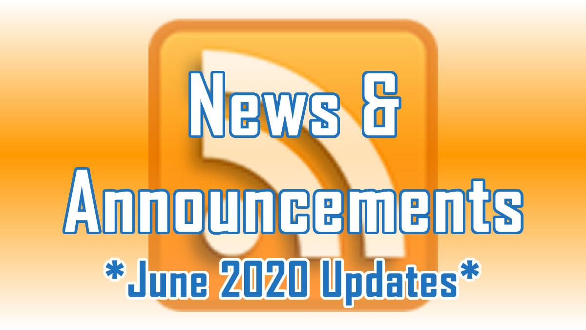 June 2020 Updates