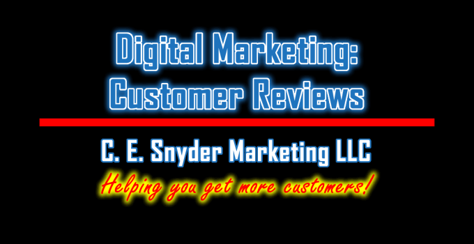 Digital Marketing: Lead Generation by C. E. Snyder Marketing LLC - Helping you get more customers!