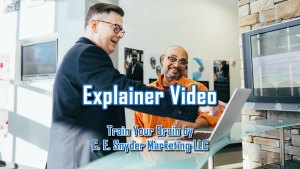 Explainer Video - Train Your Brain: what comes out of your brain is only as good as what you feed it!