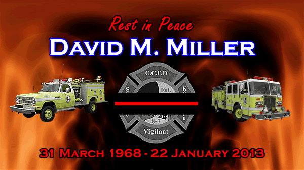 Dedicated to my best friend, David M. Miller