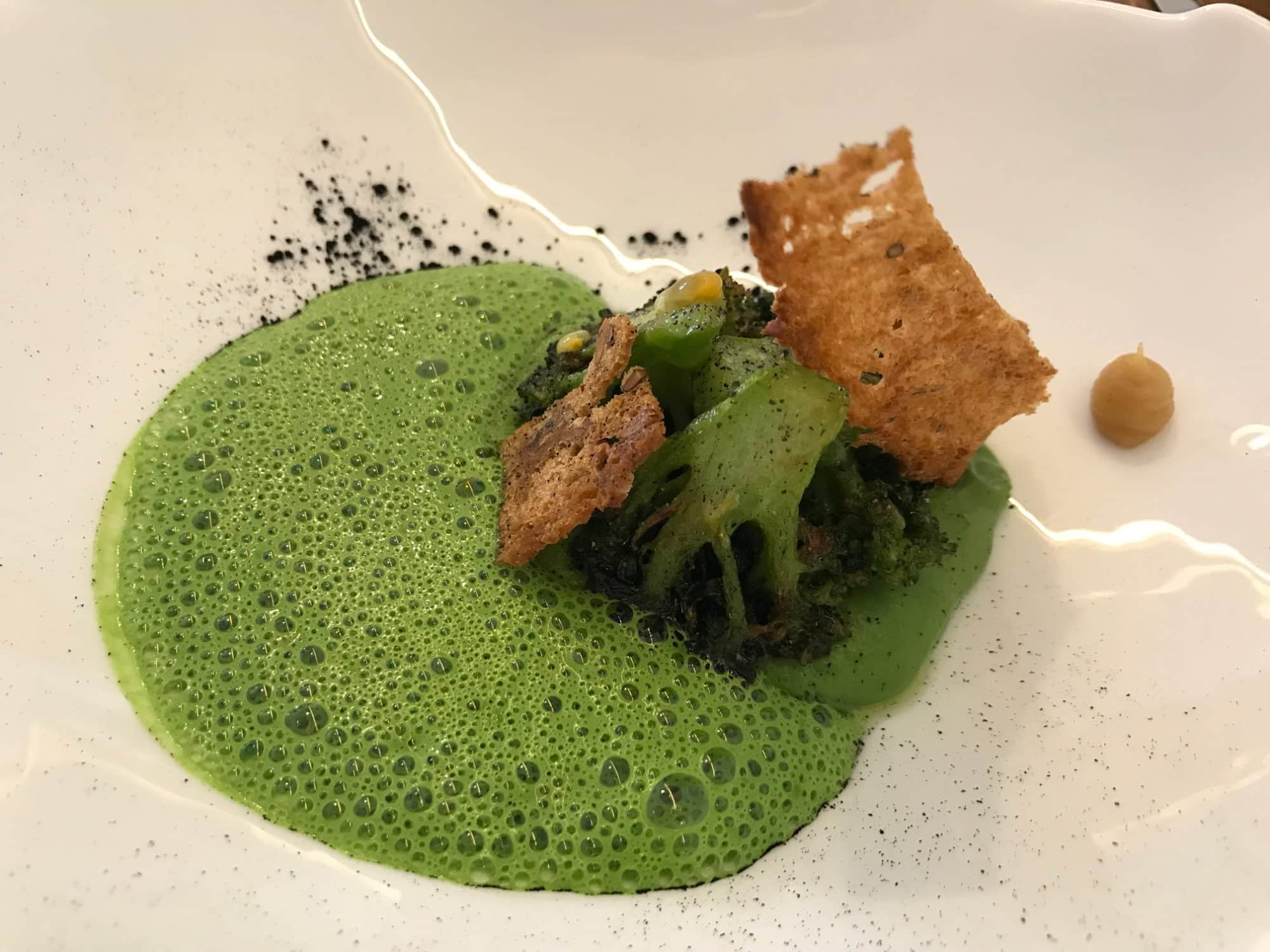 Creation culinaire d'alexandre mazzia a marseille