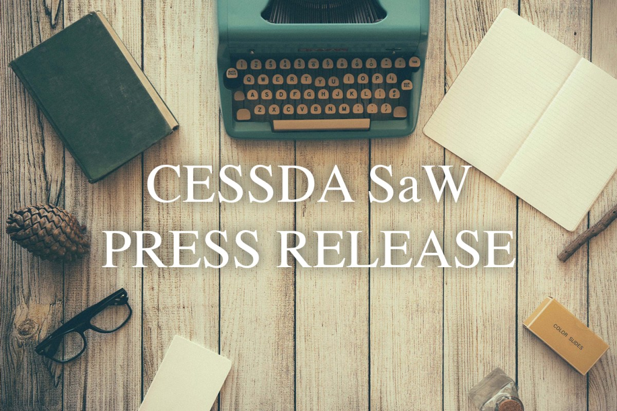 Press Release Cessda Saw Cessda Saw