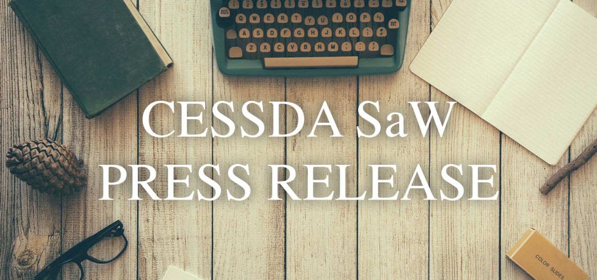 really comfortable free delivery cheapest price Press Release – CESSDA SaW – CESSDA SaW