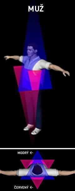 3D Merkaba - muž