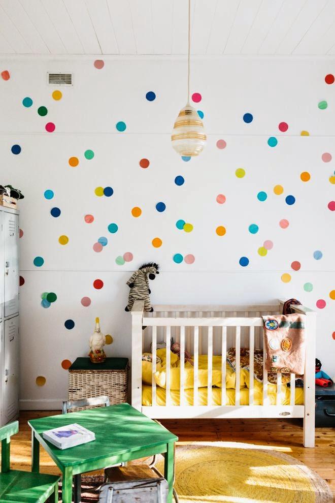 Decorar con papel pintado las habitaciones infantiles - Habitaciones con papel ...