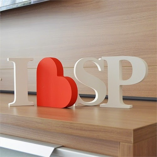 Decorar con letras de madera blancas lacadas blog de cestaland - Letras de madera para decorar ...