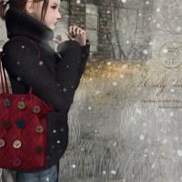 ::C'est la vie !:: Holly knit bag for Fifty Linden Fridays
