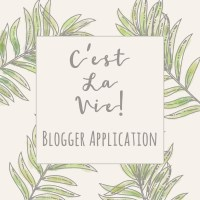 ::C'est la vie !:: BLOGGER APPLICATION
