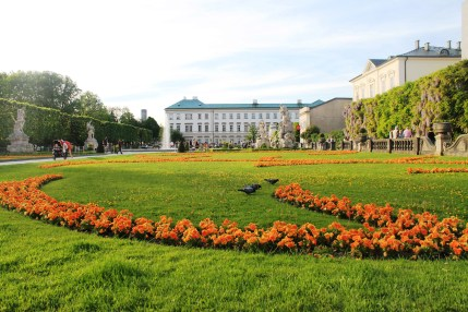 The beautiful Mirabell Gardens