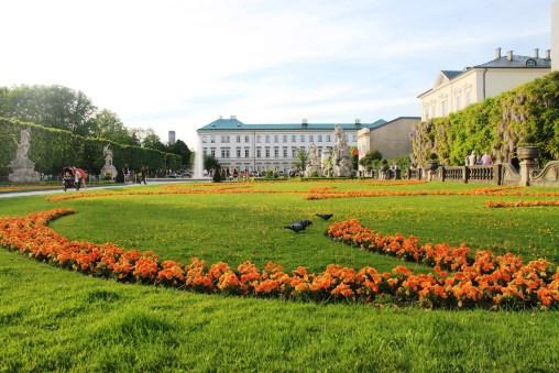 The beautiful Mirabell Gardens