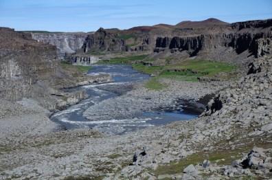 U vodopádu Dettifoss