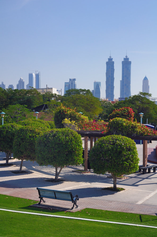 Dubaj | pohled na hotel JW Marriott Marquis