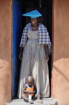 Vesnice kmene Herero