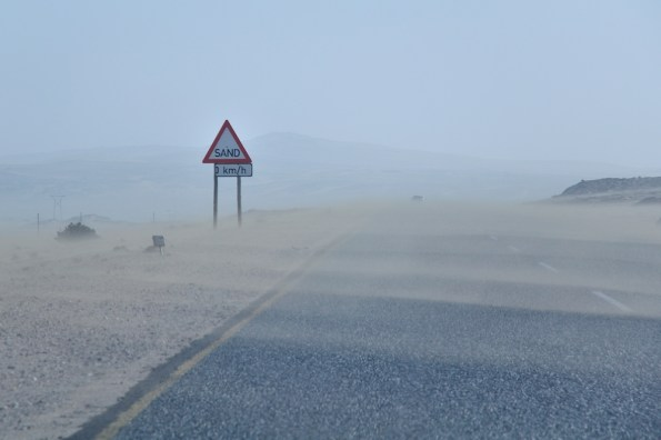 Blížíme se do Lüderitzu
