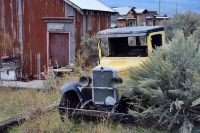 Ghost town u Walhachinu