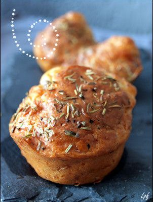 muffins-bacon