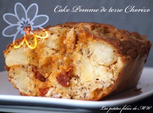 Cake pommes de terre chorizo, recette facile à partager en famille ou entre amis