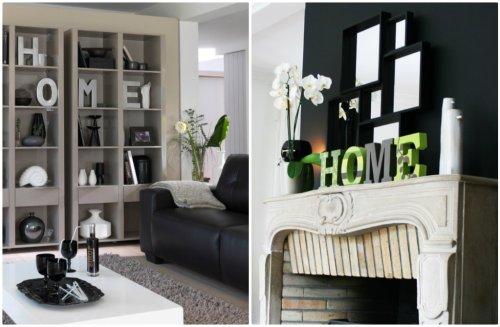 des lettres par milliers lettres d coratives. Black Bedroom Furniture Sets. Home Design Ideas