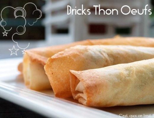 bricks thon oeufs