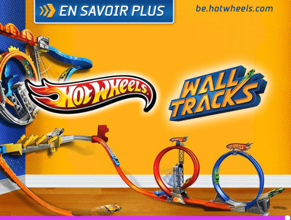 Hot Wheels - Wall Tracks Mega Set