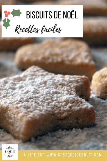 Recette des biscuits de Noël à faire pendant l'Avent en famille #recette #recipe #biscuits #sablés #noel #christmas