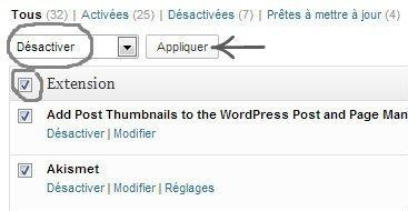 Extensions ‹ C'est quoi ce bruit - — WordPress