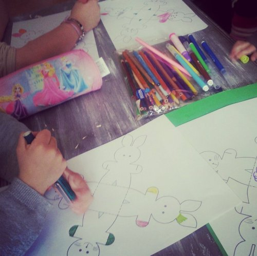 Paniers lapin de Pâques {tuto DIY} à faire avec les enfants