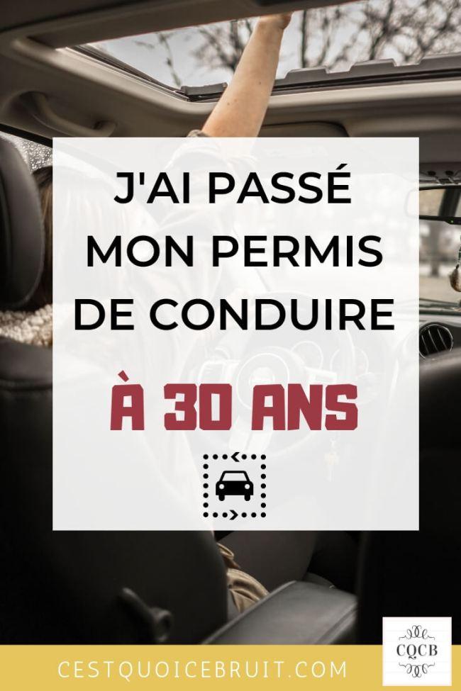 J'ai passé et réussi mon permis de conduire à 30 ans #30ans #permis #conduire #autonomie #peurdeconduire