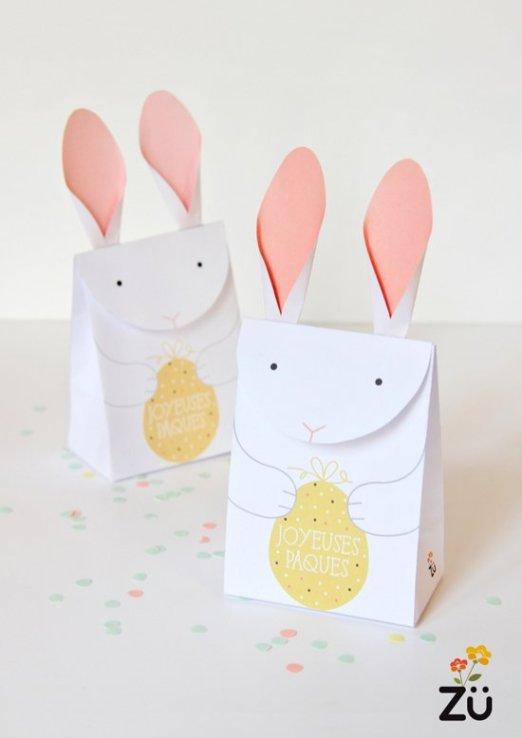 5 jolis projets paniers et box pour Pâques