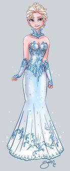 elsa-yamino-la-reine-des-neiges-dessin