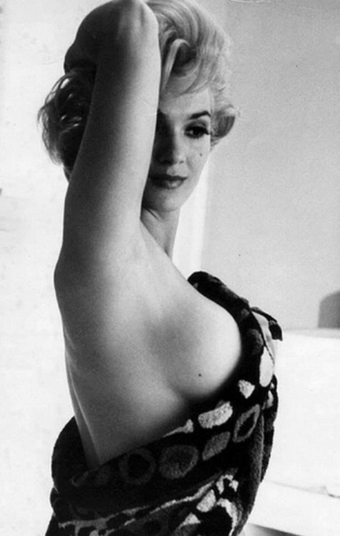 Femme sexy des années 50 : Marilyn Monroe