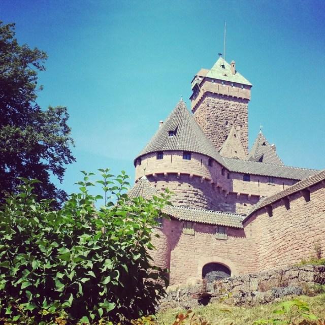 A la découverte de l'Alsace ! Haut Kœnigsbourg