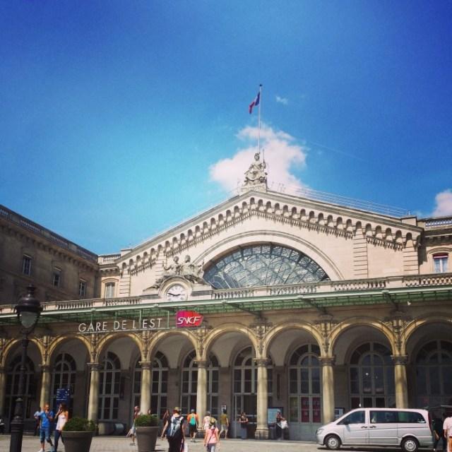 A la découverte de l'Alsace ! gare de l'Est Paris