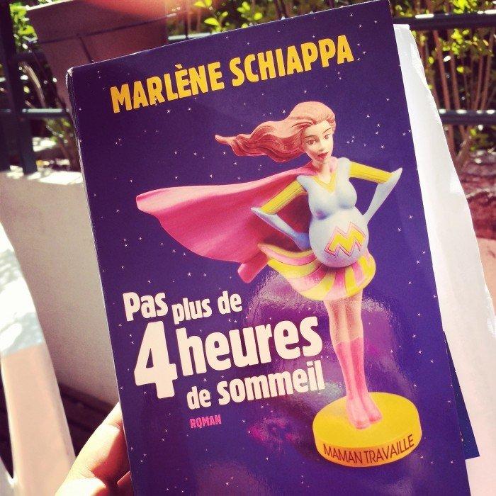 Pas plus de 4 heures de sommeil de Marlène Schiappa ! (roman)